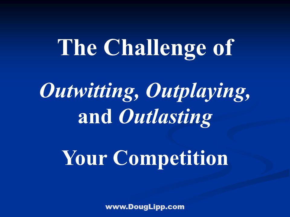 www.DougLipp.com Walk In Their Shoes From Ordinary to Extraordinary… Tigger Teambuilding
