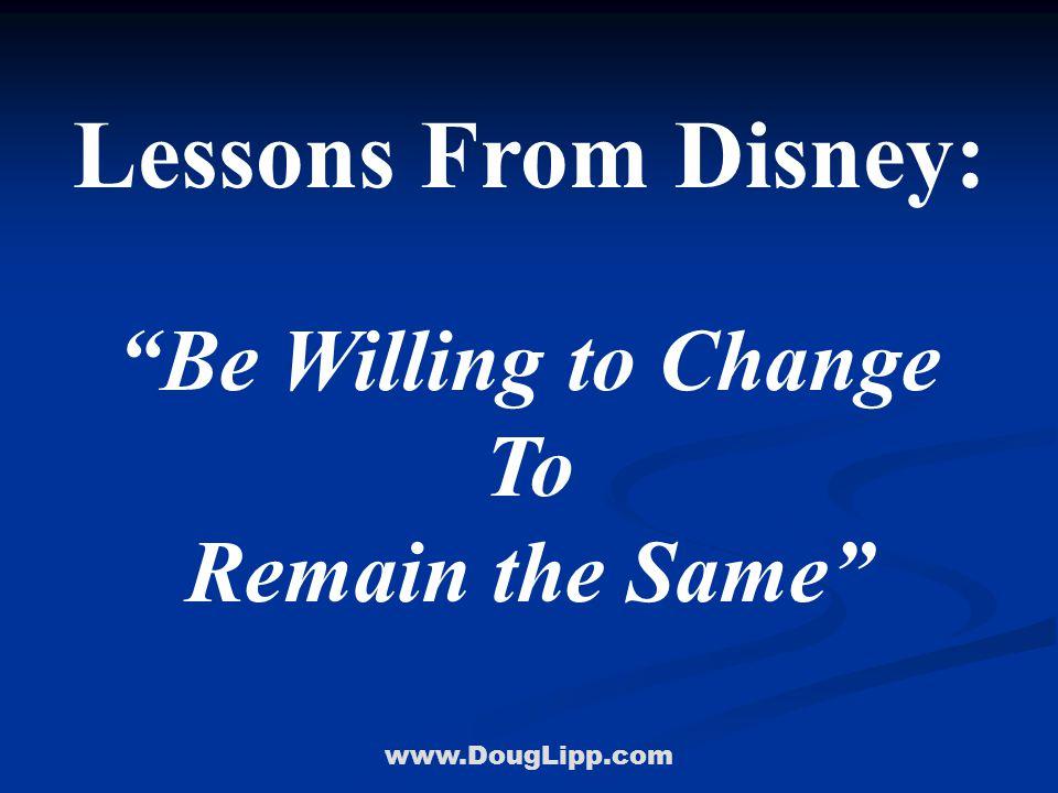 www.DougLipp.com Organizations That Reinvent Themselves Doug Lipp