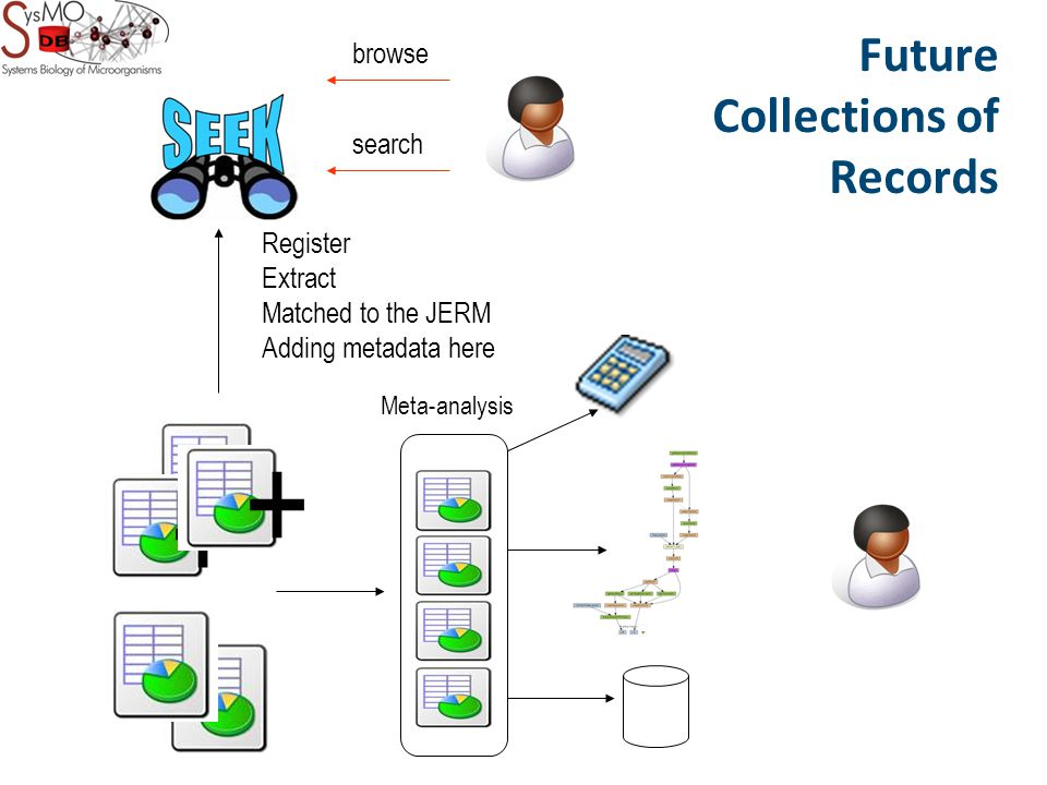 Register Extract Matched to the JERM Adding metadata here browse search + + Future Collections of Records + Meta-analysis
