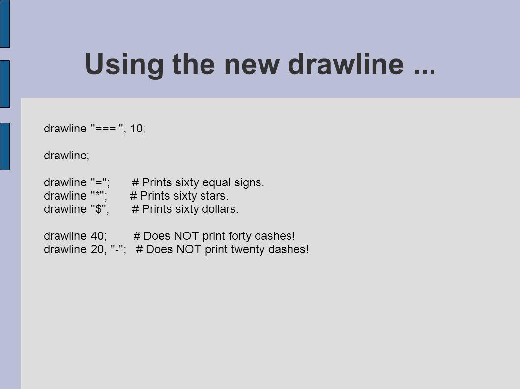 drawline