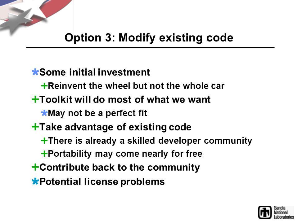 Adapting VTK for Infovis Why VTK.