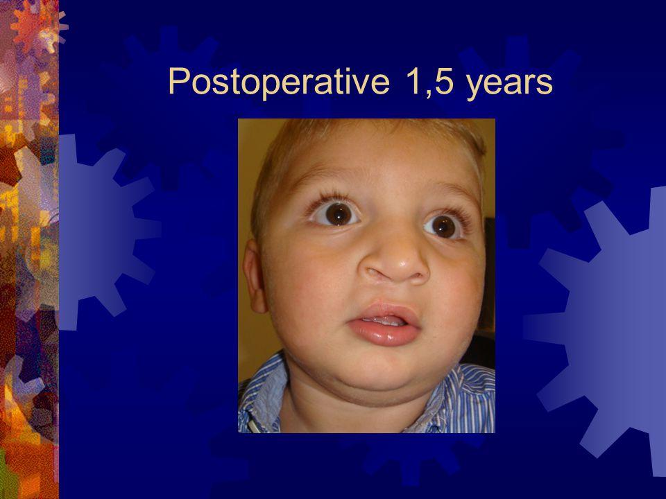 Postoperative 1,5 years