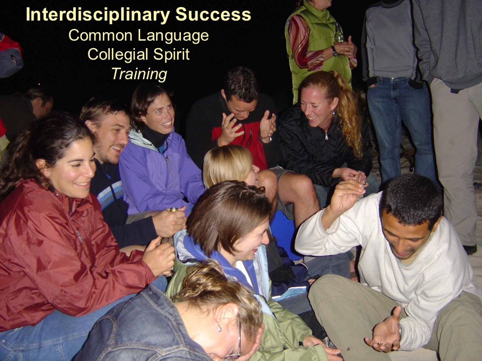 Interdisciplinary Success Common Language Collegial Spirit Training