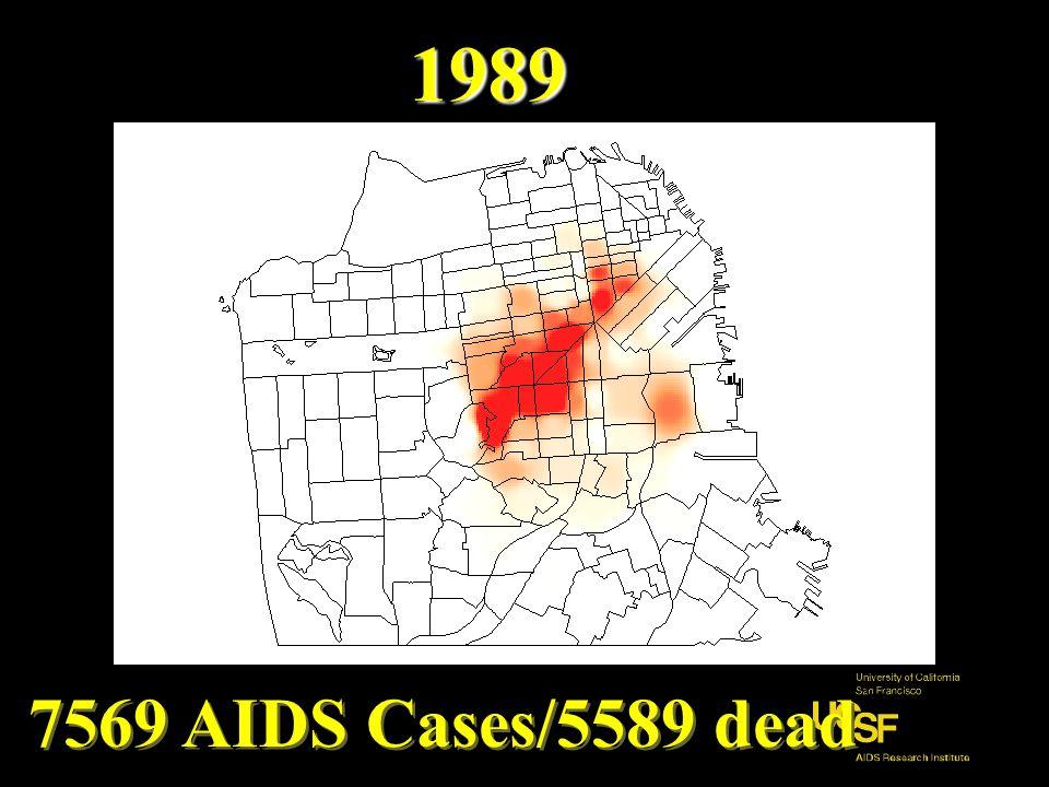 1984 838 AIDS Cases/491dead