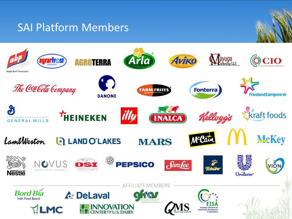 SAI Platform Members AFFILIATE MEMBERS