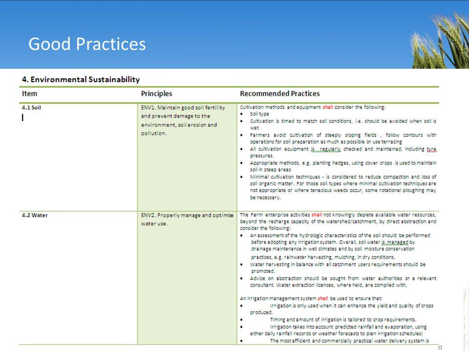 7 7 Good Practices