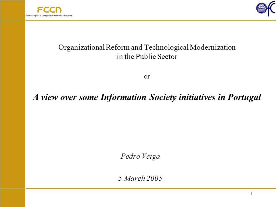 2 Agenda Digital Cities initiative (1998-2000) Information Society Operational Programme (2000-2002) UMIC Work program (2002-2005) Concluding Remarks