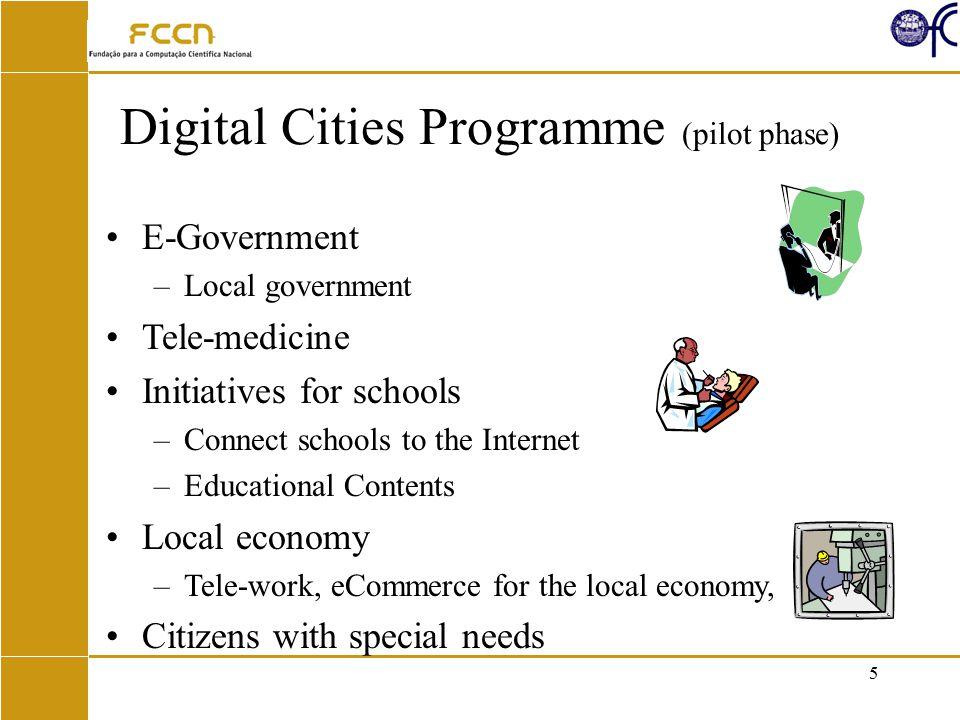 16 UMIC – Unidade de Missão Inovação e Conhecimento Action Plan for the Information Society Action Plan for the Electronic Government