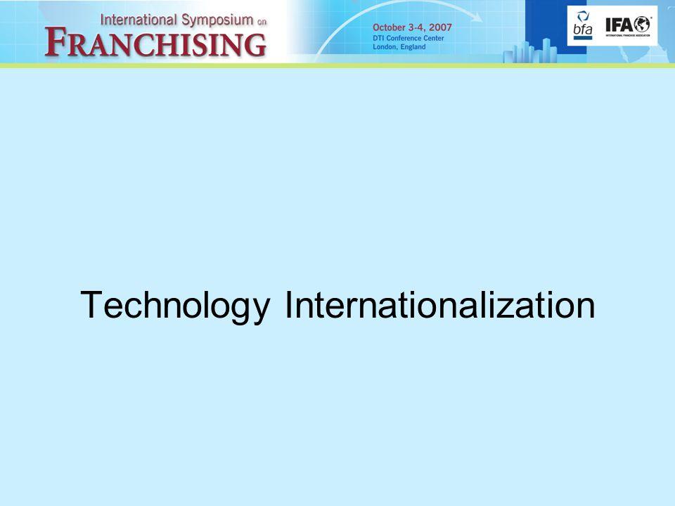 Technology Internationalization