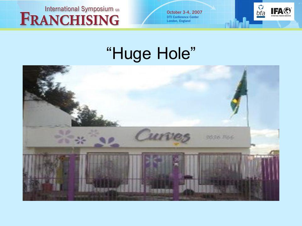 Huge Hole
