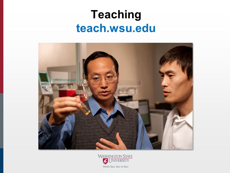 Teaching teach.wsu.edu