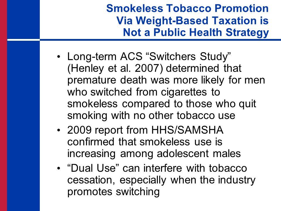 Long-term ACS Switchers Study (Henley et al.