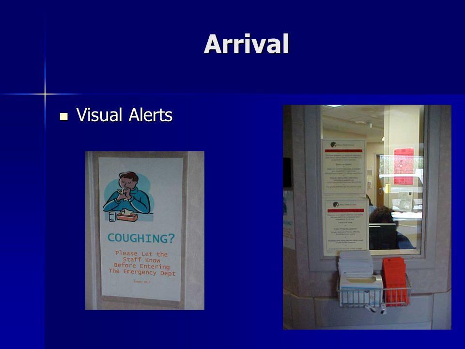 Arrival Visual Alerts Visual Alerts