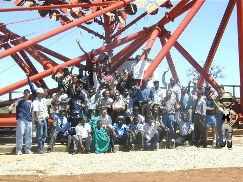 Die H.E.S.S. Teleskope (2003)