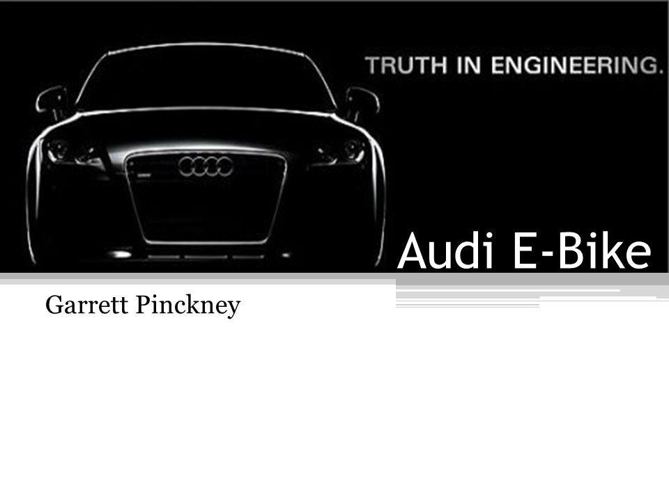 Audi E-Bike Garrett Pinckney