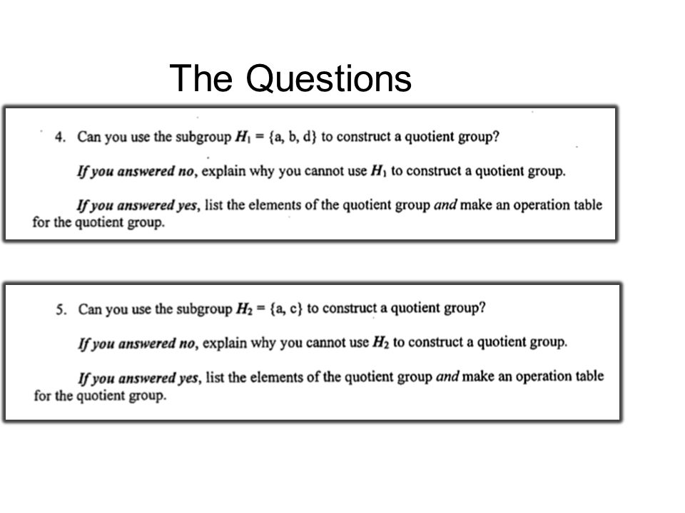 Does the identity element of a quotient group need to contain the identity of the original group.