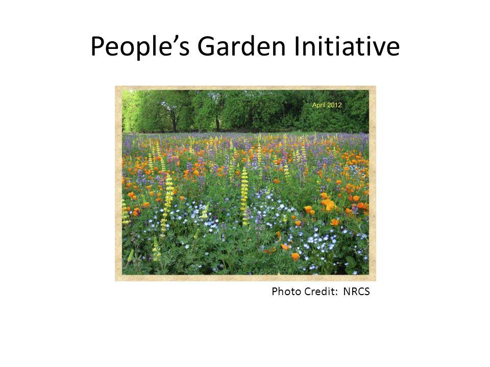 People's Garden Initiative Photo Credit: NRCS