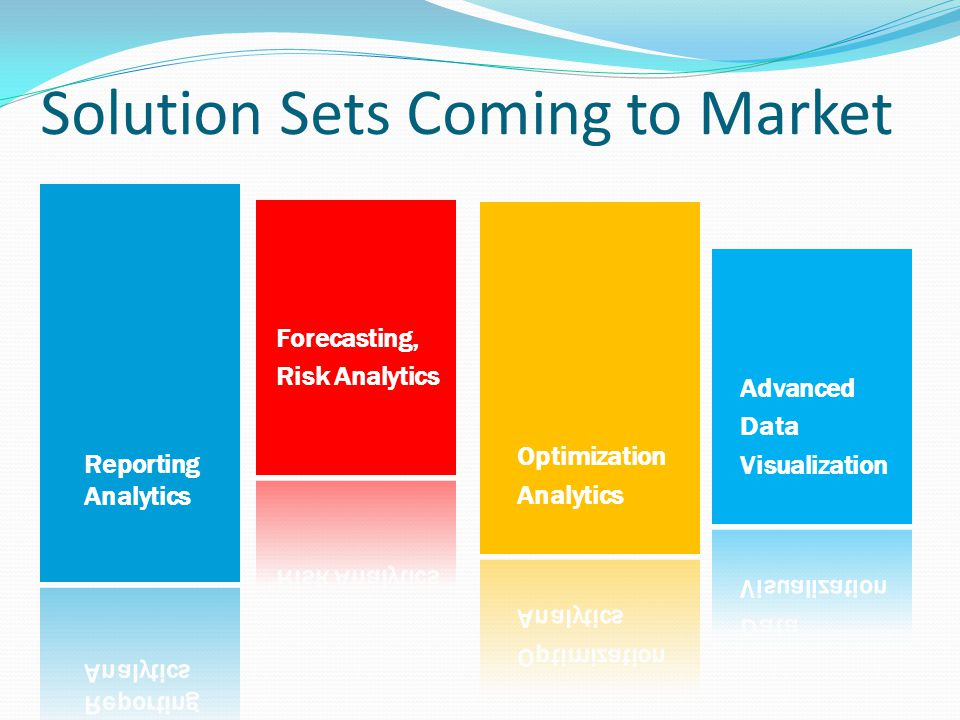 Solution Sets Coming to Market