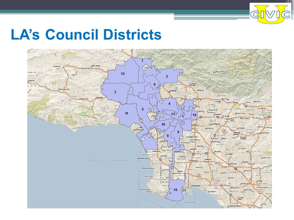 LA's Council Districts