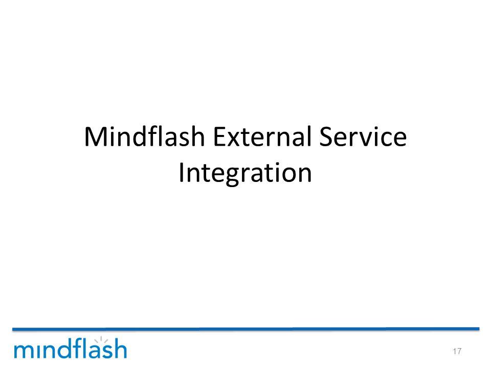 Mindflash External Service Integration 17