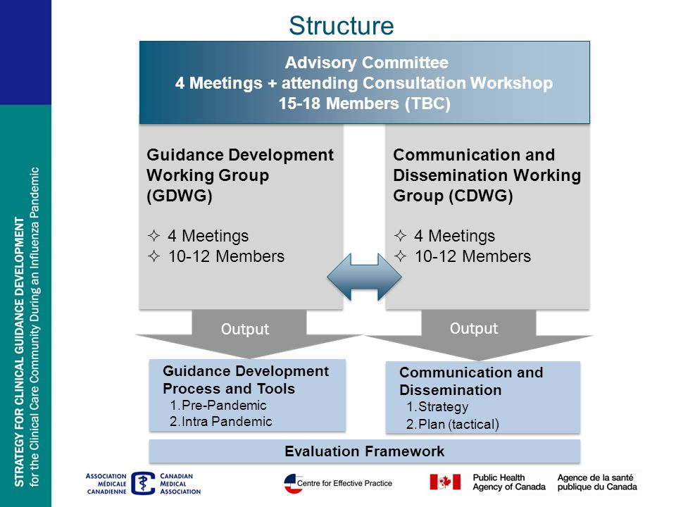 8 Guidance Development Working Group (GDWG)  4 Meetings  10-12 Members Guidance Development Working Group (GDWG)  4 Meetings  10-12 Members Guidan