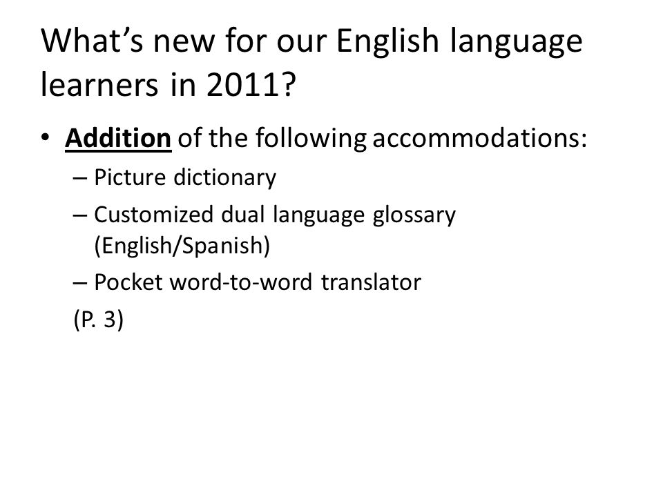 Procedures for Identifying Our English Language Learners (P. 43)