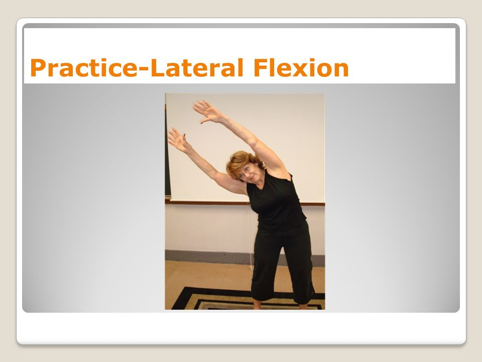 Practice-Lateral Flexion
