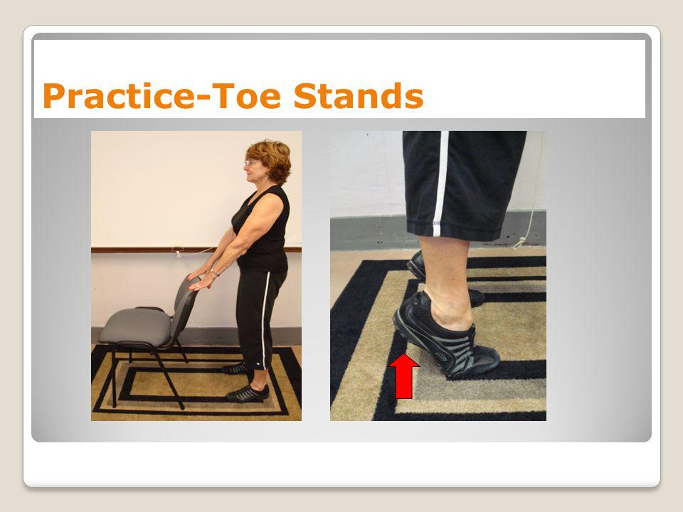 Practice-Toe Stands