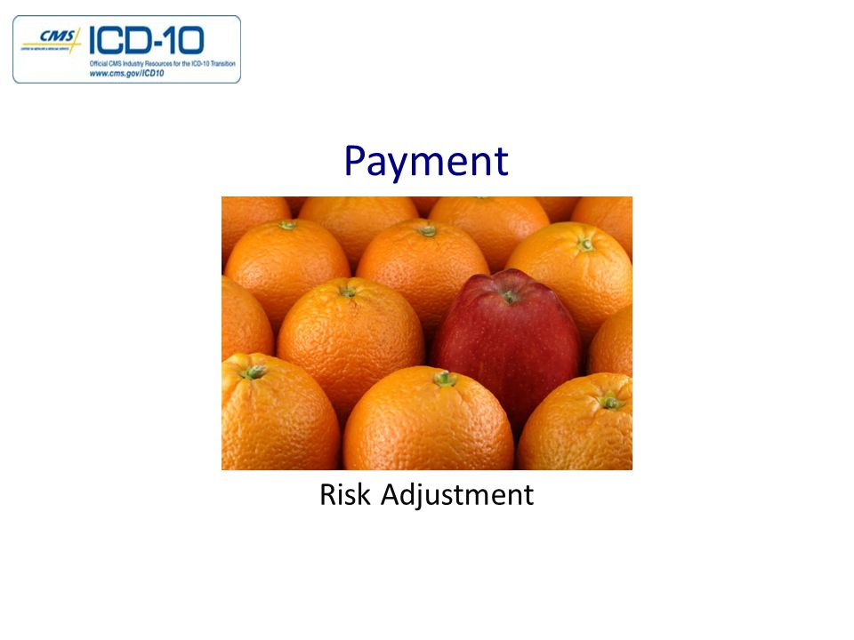 Payment Risk Adjustment