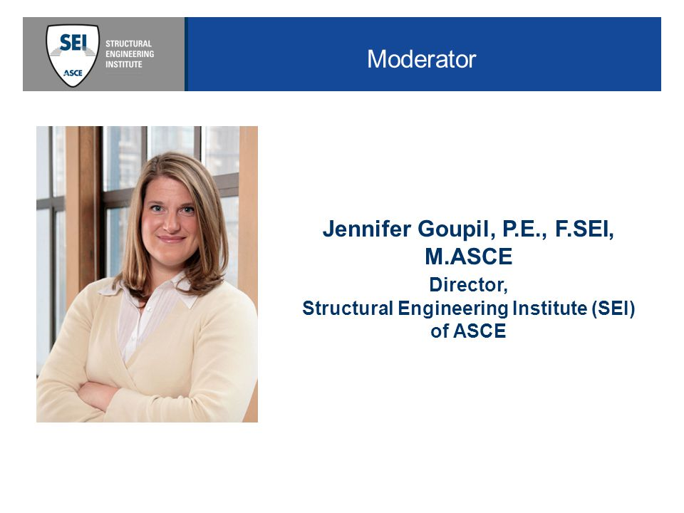 One of 8 specialty Institutes of ASCE The Structural Engineering Institute of ASCE was founded in 1996 Mission is to advance and serve the structural engineering profession More than 25,000 members More than 30 SEI Chapters including five Graduate Student Chapters.