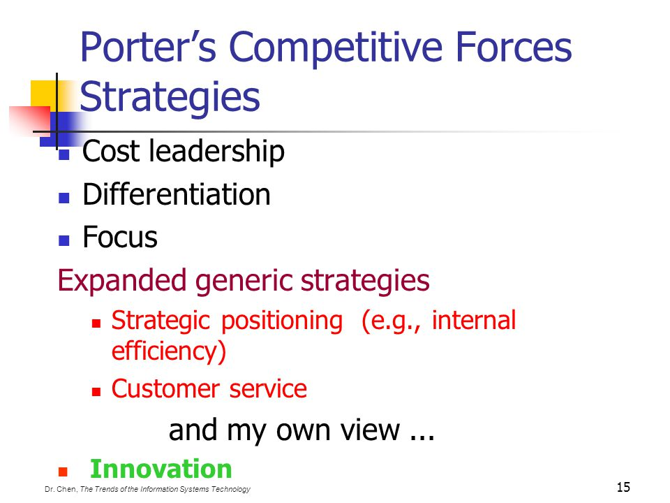 PORTER'S FIVE COMPETITIVE FORCES MODEL THE FIRM TRADITIONAL COMPETITORS NEW MARKET ENTRANTS SUPPLIERS SUBSTITUTE PRODUCTS & SERVICES CUSTOMERS Threats