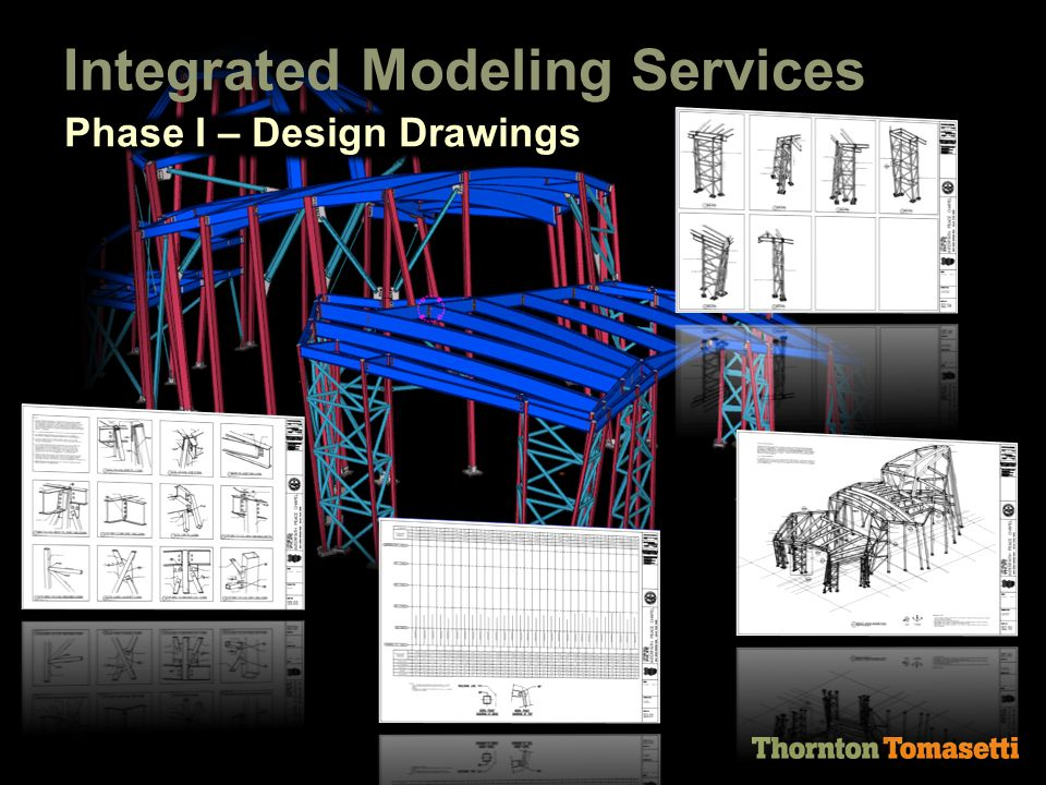 Integrated Modeling Services Phase I – Design Drawings