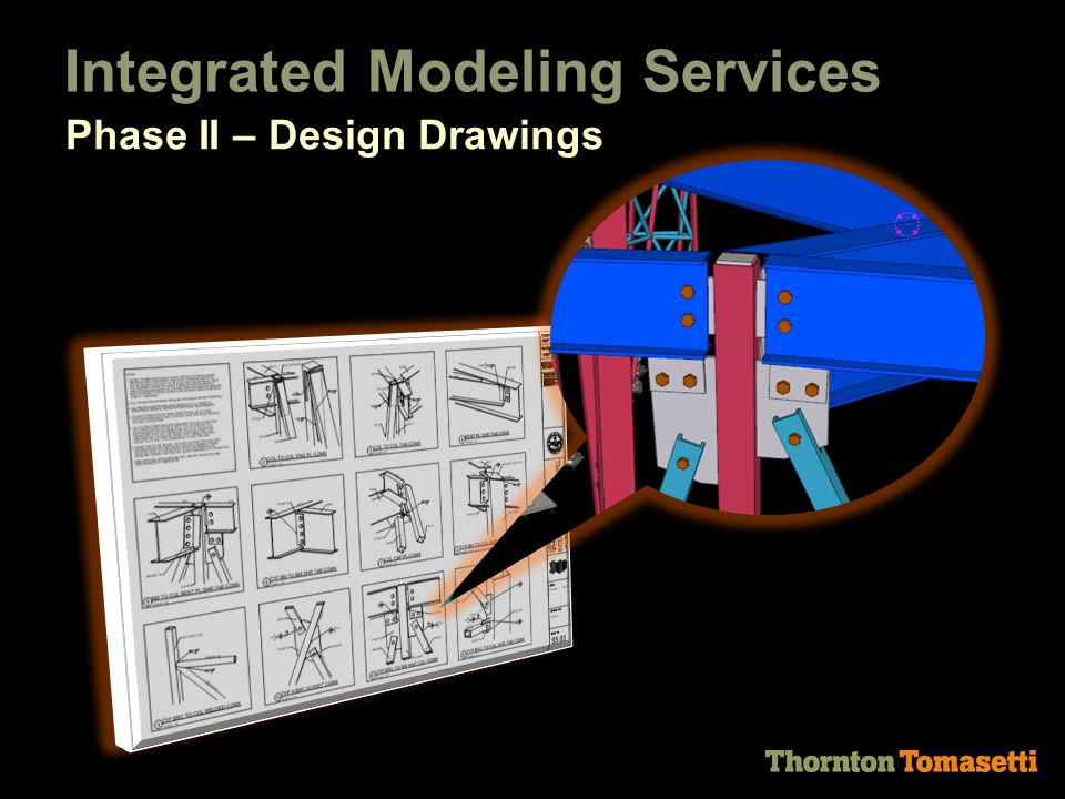 Integrated Modeling Services Phase II – Design Drawings