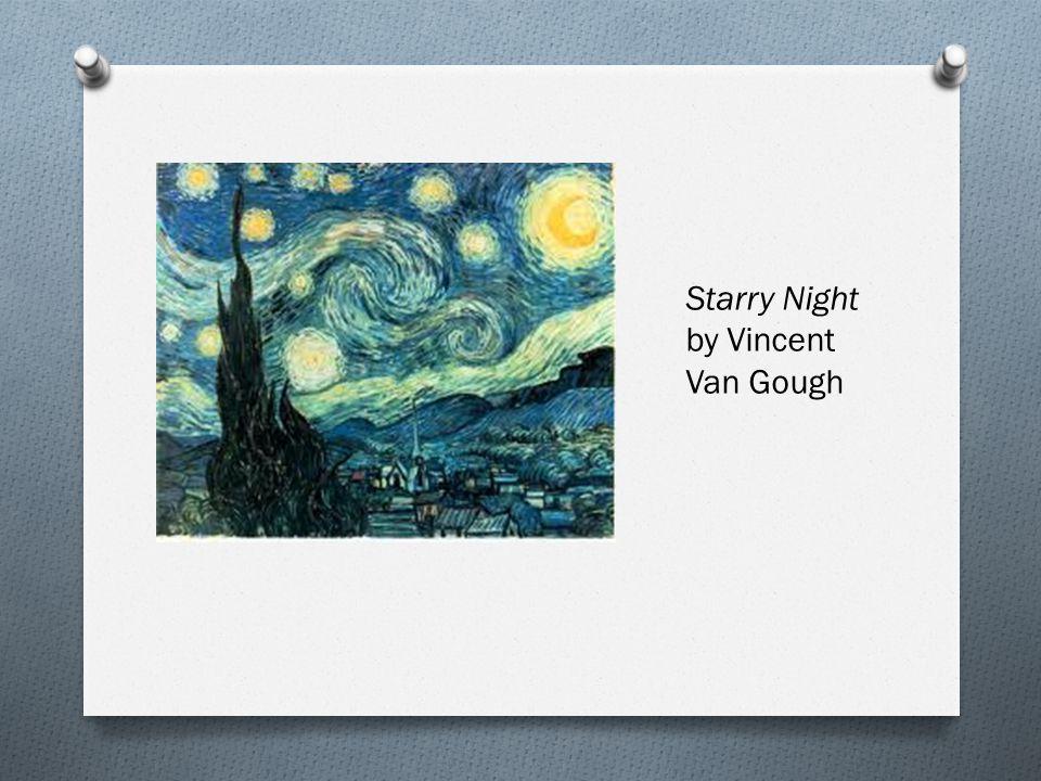 Starry Night by Vincent Van Gough
