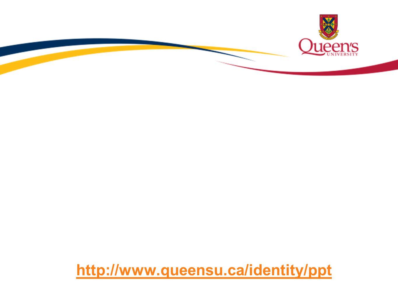 Title Text http://www.queensu.ca/identity/ppt