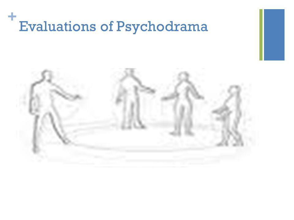 + Evaluations of Psychodrama