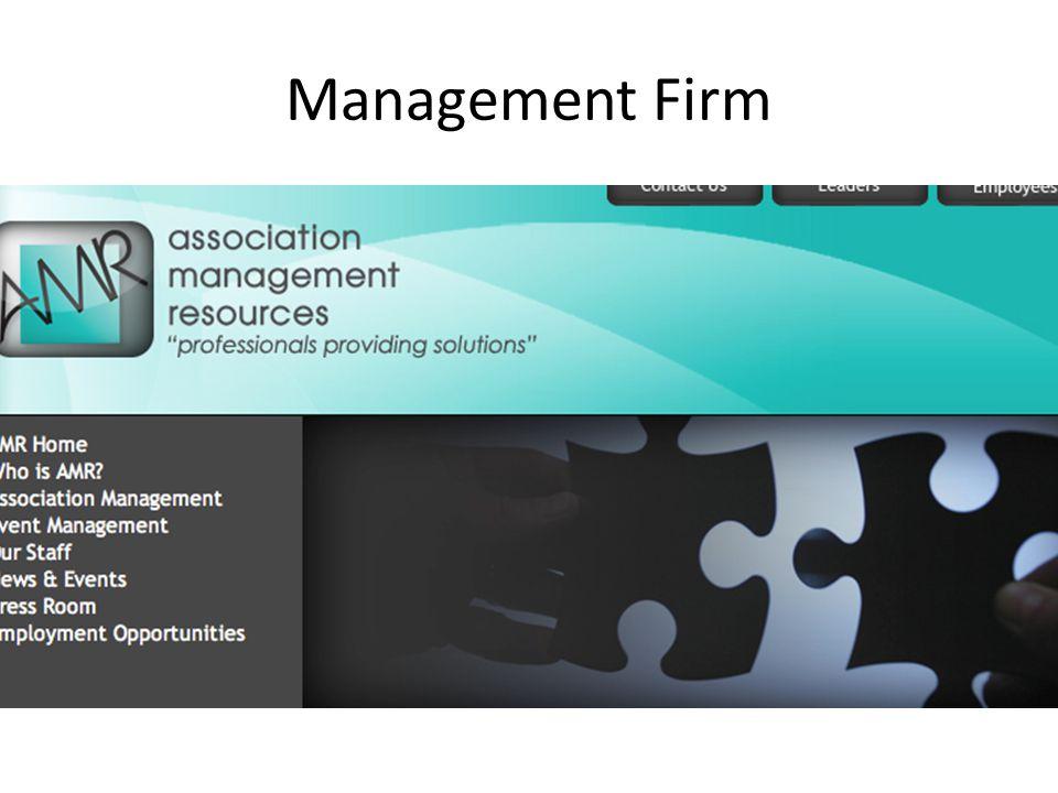 Management Firm