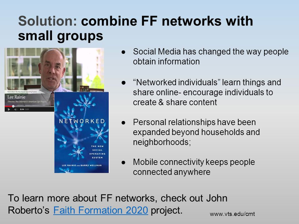 Complication: How do you actually plant a church FF network.