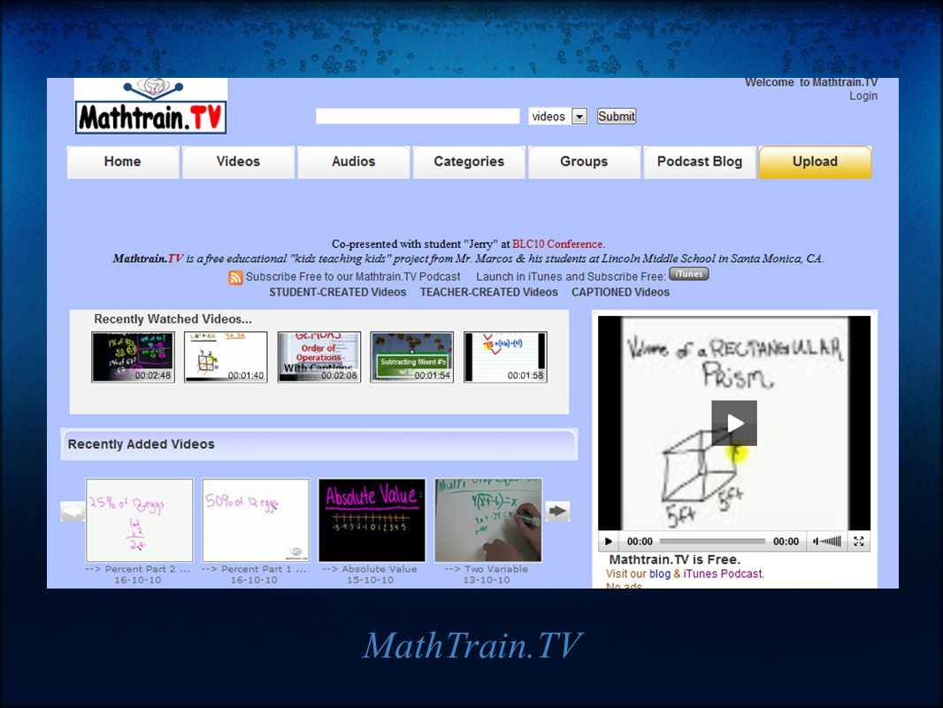 MathTrain.TV