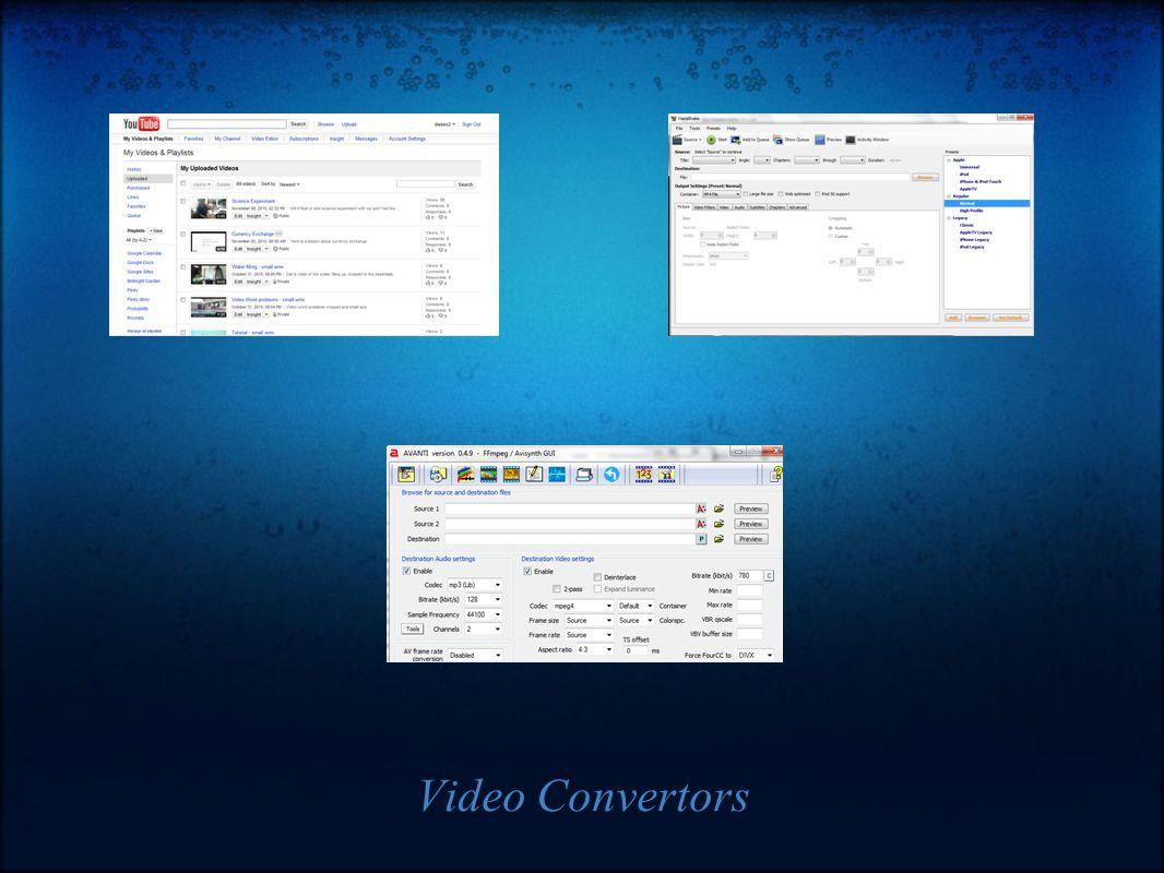 Video Convertors