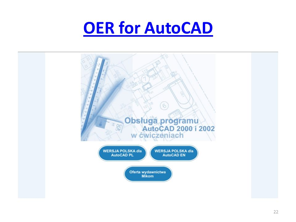 OER for AutoCAD 22