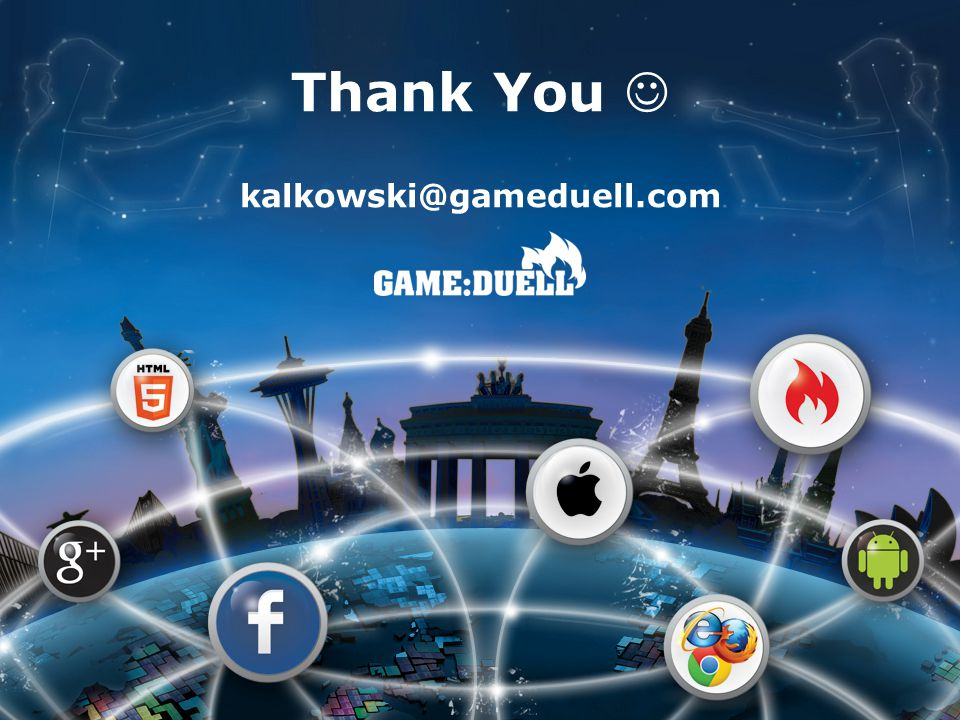 Thank You kalkowski@gameduell.com