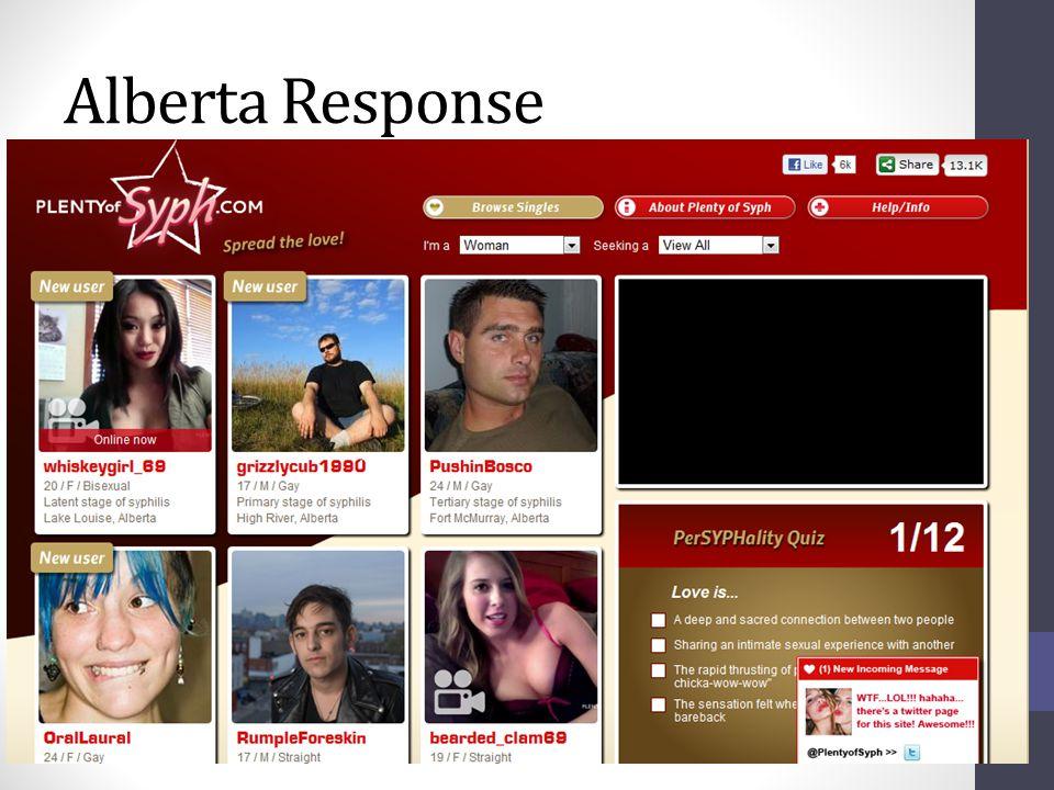 Alberta Response