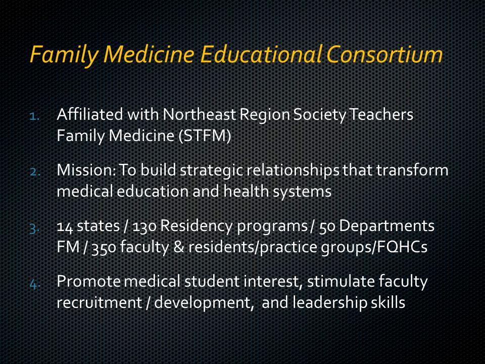 Family Medicine Educational Consortium 1.