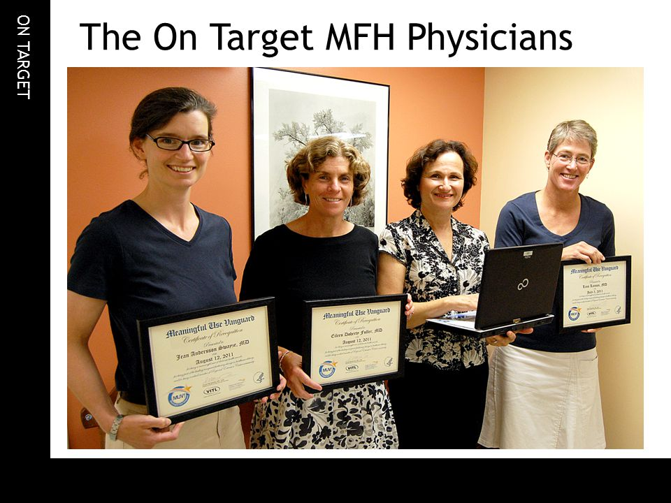 ON TARGET The On Target MFH Physicians