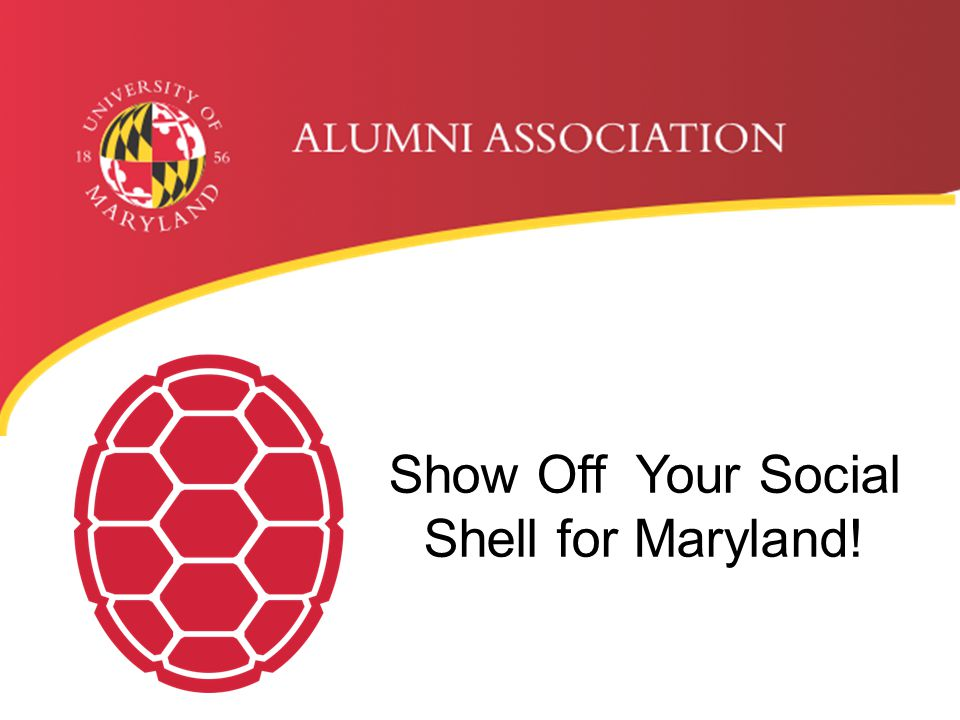 Show Off Your Social Shell for Maryland!