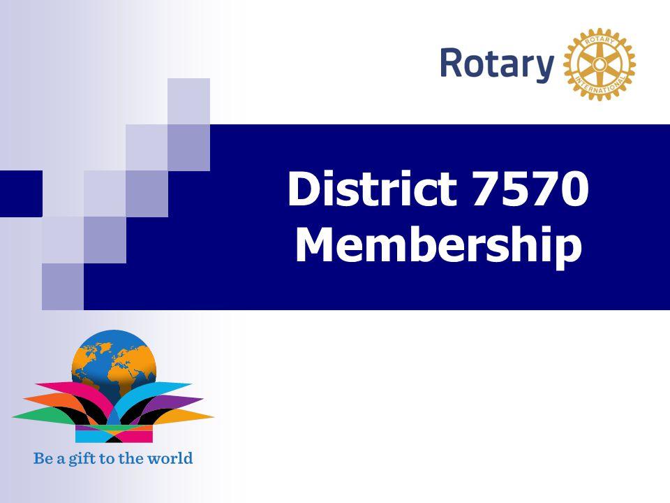 District 7570 Membership