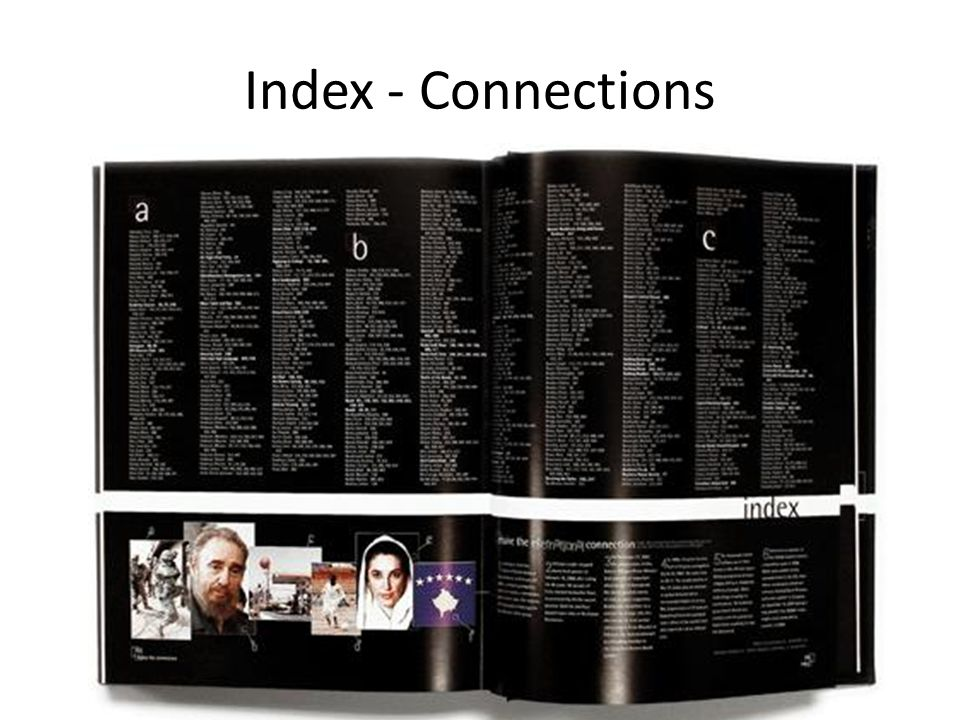 Index - Connections