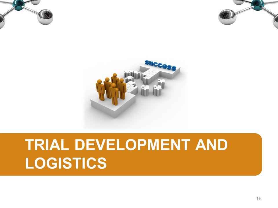 TRIAL DEVELOPMENT AND LOGISTICS 18