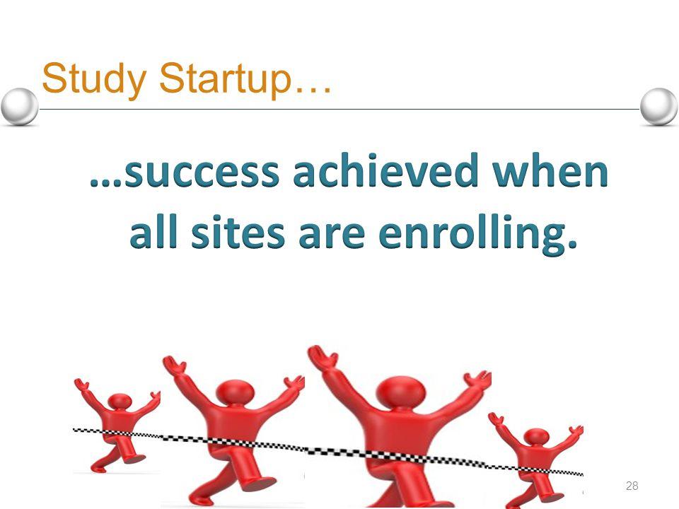 Study Startup… 28